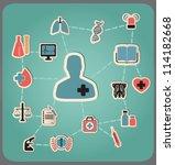 concept of medicine   vector...