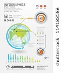 infographics set and... | Shutterstock .eps vector #114183586