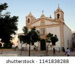 church of santa maria at praca... | Shutterstock . vector #1141838288