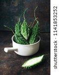 wild bitter gourd  bitter... | Shutterstock . vector #1141853252