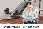 satisfied senior citizen in...   Shutterstock . vector #1141855325