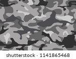camouflage pattern background ... | Shutterstock .eps vector #1141865468