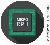 vector icon of computer micro...   Shutterstock .eps vector #1141874888