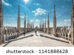 milan  italy   may 16  2017 ... | Shutterstock . vector #1141888628