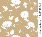 seamless floral pattern with... | Shutterstock .eps vector #1141913045