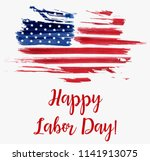usa labor day holiday... | Shutterstock .eps vector #1141913075