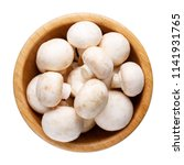 whole small fresh white... | Shutterstock . vector #1141931765