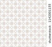mosaic seamless pattern. subtle ... | Shutterstock .eps vector #1142001155