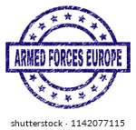 armed forces europe seal print... | Shutterstock .eps vector #1142077115