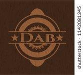 dab wood emblem | Shutterstock .eps vector #1142081345