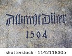 close up  of the 1504 d rer... | Shutterstock . vector #1142118305