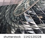 glass curtail wall parametric... | Shutterstock . vector #1142120228