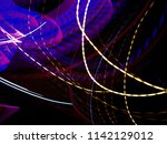 color magic line. abstract... | Shutterstock . vector #1142129012