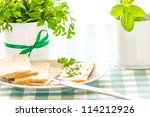 breakfast table | Shutterstock . vector #114212926