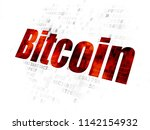 cryptocurrency concept ... | Shutterstock . vector #1142154932