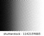 dots background. monochrome... | Shutterstock .eps vector #1142159885