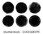 vector grunge stamps.distress... | Shutterstock .eps vector #1142168195
