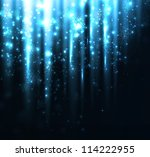 abstract holiday light... | Shutterstock .eps vector #114222955