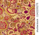 abstract fashion crazy exotic...   Shutterstock .eps vector #1142235275