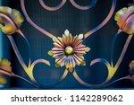 Ornate Wrought Iron Elements O...