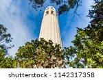 san francisco  california  low... | Shutterstock . vector #1142317358