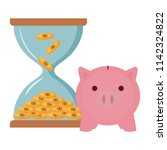 piggy bank design | Shutterstock .eps vector #1142324822