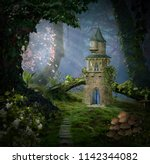 Fantasy Castle In The Forest....