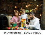 private teaching concept.... | Shutterstock . vector #1142344802