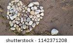 Stone Heart on a Wisconsin Beach