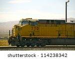 Modern Diesel Locomotive In...