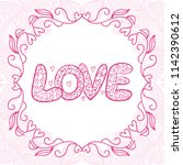 love. vector illustration | Shutterstock .eps vector #1142390612