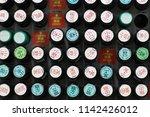 chiba  japan   may 2  2018  low ... | Shutterstock . vector #1142426012