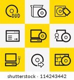 software icons | Shutterstock .eps vector #114243442