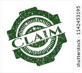 Green Claim Distressed Grunge...