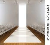 fashion runway empty  3d | Shutterstock . vector #114251215