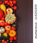 Thanksgiving Border With Copy...
