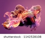 Colorful Smoke. 3d Illustratio...