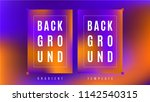 neon glow gradient background... | Shutterstock .eps vector #1142540315