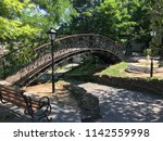 forged staircase in the old... | Shutterstock . vector #1142559998
