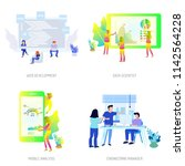 business people conceptual...   Shutterstock .eps vector #1142564228