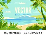 vector illustration in trendy... | Shutterstock .eps vector #1142593955