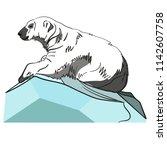 vector illustration of white... | Shutterstock .eps vector #1142607758