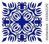 decorative tile  vector...   Shutterstock .eps vector #1142612192