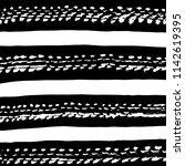 line pattern. brush. vector.... | Shutterstock .eps vector #1142619395