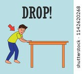 earthquake awareness for... | Shutterstock .eps vector #1142620268