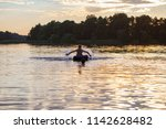 kids jumping  swimming and... | Shutterstock . vector #1142628482