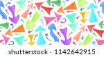 seamless pattern of hand drawn... | Shutterstock .eps vector #1142642915