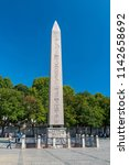 istanbul   july 22  obelisk of... | Shutterstock . vector #1142658692