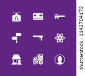 technology icon set. store ...
