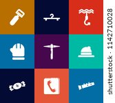 modern  simple vector icon set... | Shutterstock .eps vector #1142710028